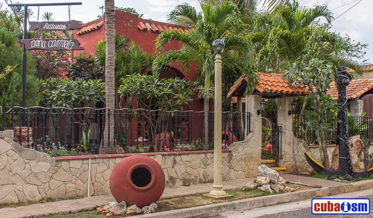 cuba recipes .org - Paladar Doña Carmela in Havana city, Cuba