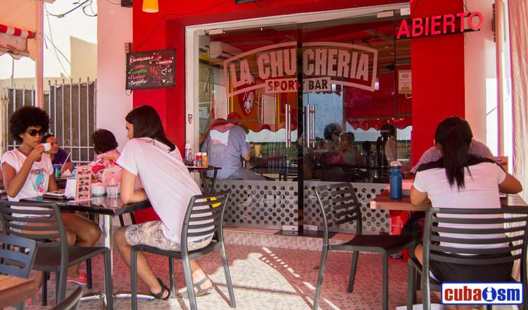 cuba recipes .org - La Chuchería Bar & Restaurant in El Vedado, Havana