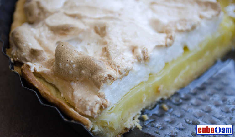 cuba recipes .org - Lemon Meringue Pie