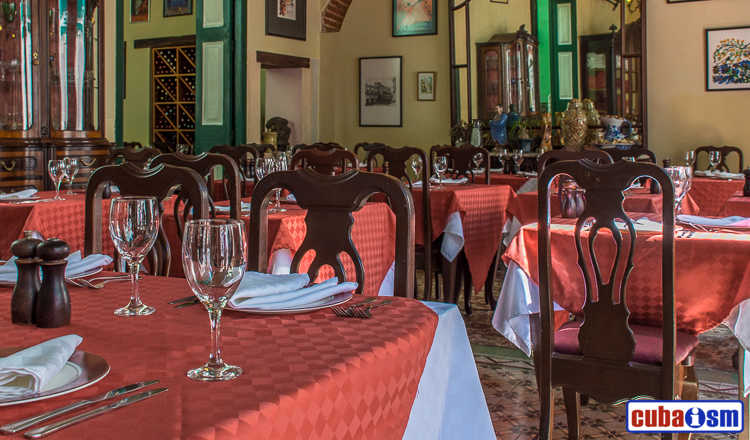 cuba recipes .org - Los Mercaderes, the cuban and international cuisine in Old Havana, Cuba