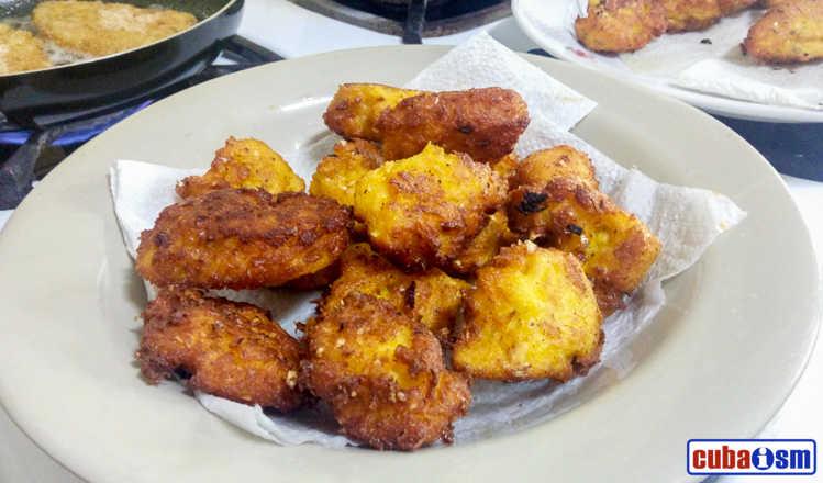 cuban recipes .org - Fresh Corn Fritters
