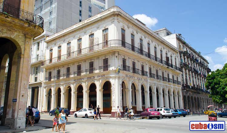 cuba recipes .org - Sloppy Joés Bar in Havana city