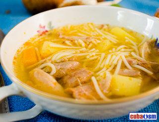 Chicken Soup Cuban Style